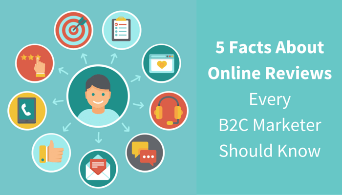 5 Facts About Online Reviews Every B2C Marketer Should Know