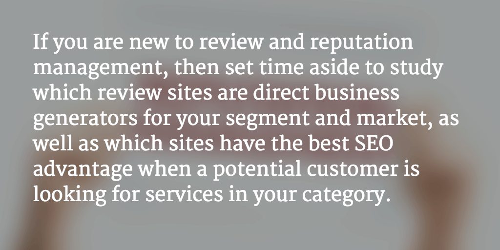 Customer Experience Management Tips: On Which Review Sites Should You Drive Engagement?