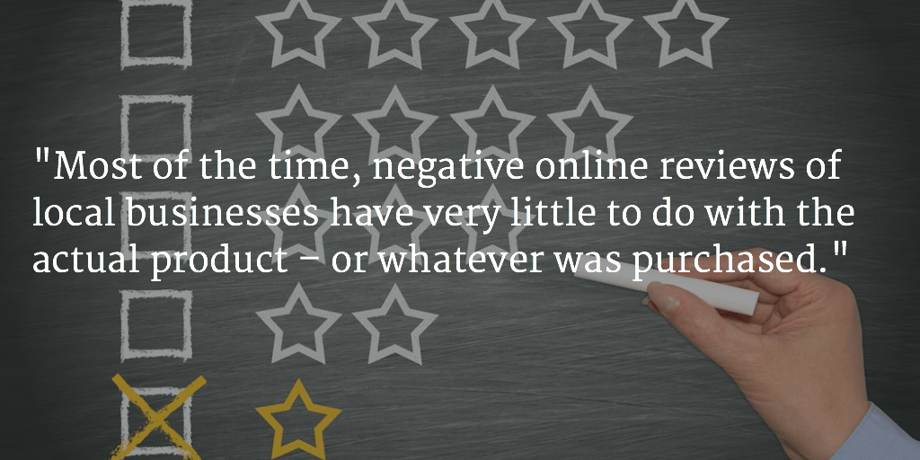 Do Business Better by Analyzing Your Bad Reviews