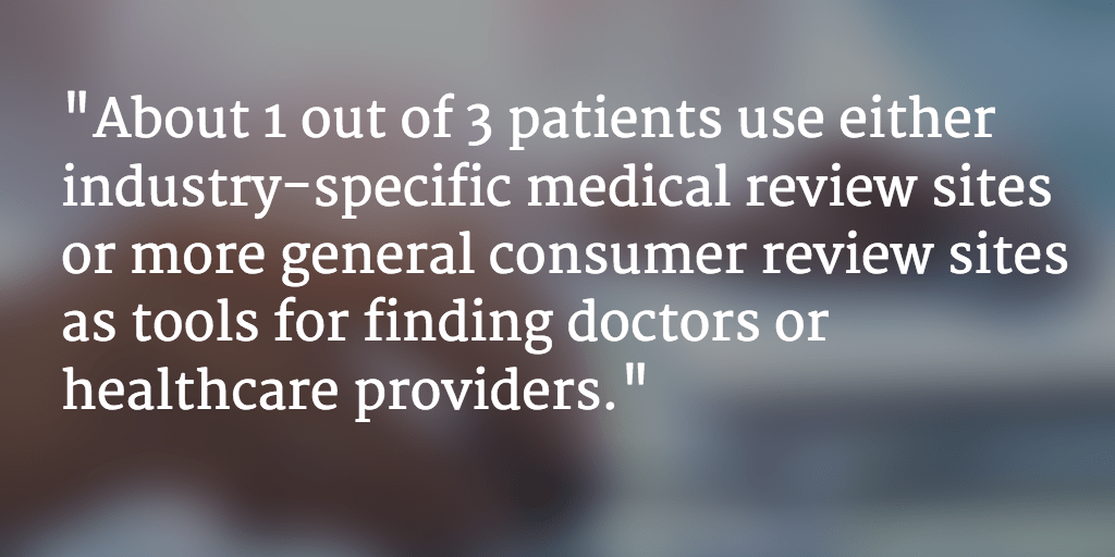 Doctors, Hospitals, and Healthcare Marketers and Organizations: A List of Online Review Sites You Track and Manage