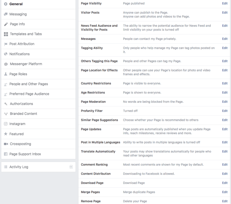 how to manage multiple facebook business pages