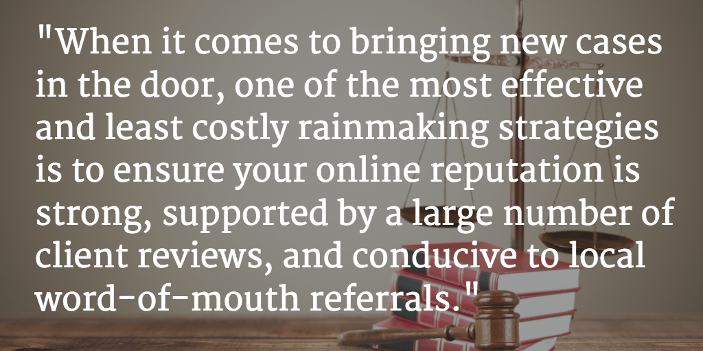 Family Law Practice: Effective Strategies for Generating (Positive) Online Reviews