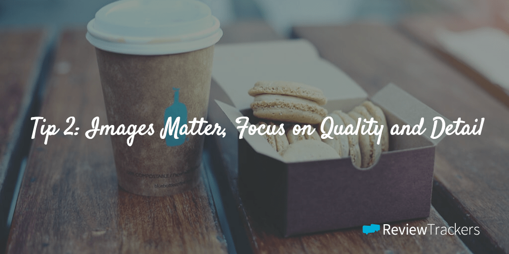 Images Matter Focus on Quality and Detail