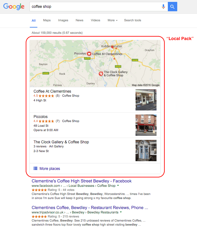 Improving Your Local Search Ranking on Google2