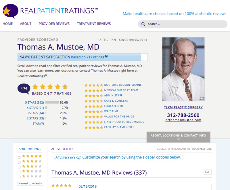 doctor review sites