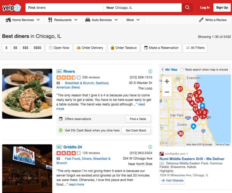 yelp business advertising
