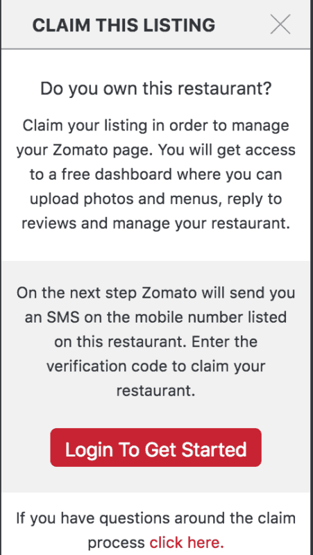 zomato businesss