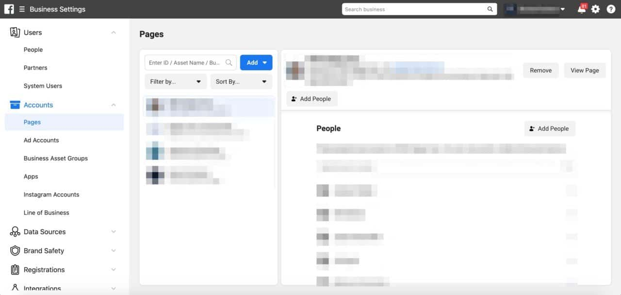 How To Manage Multiple Facebook Pages With Facebook Business Manager Reviewtrackers