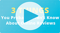 3 things you didn't know about online reviews