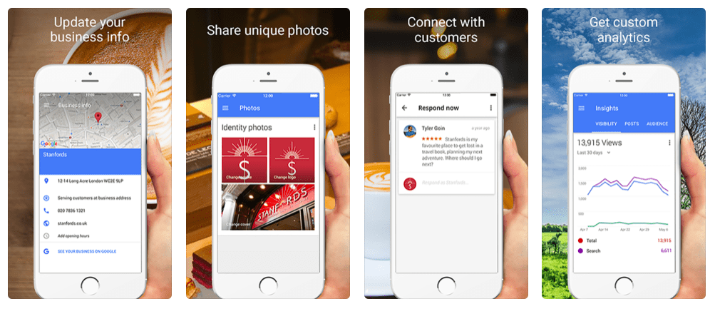A Guide to Using the Google My Business App | ReviewTrackers