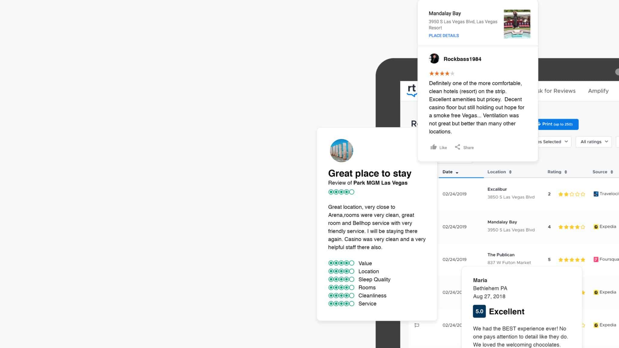 centralize your review response with ReviewTrackers