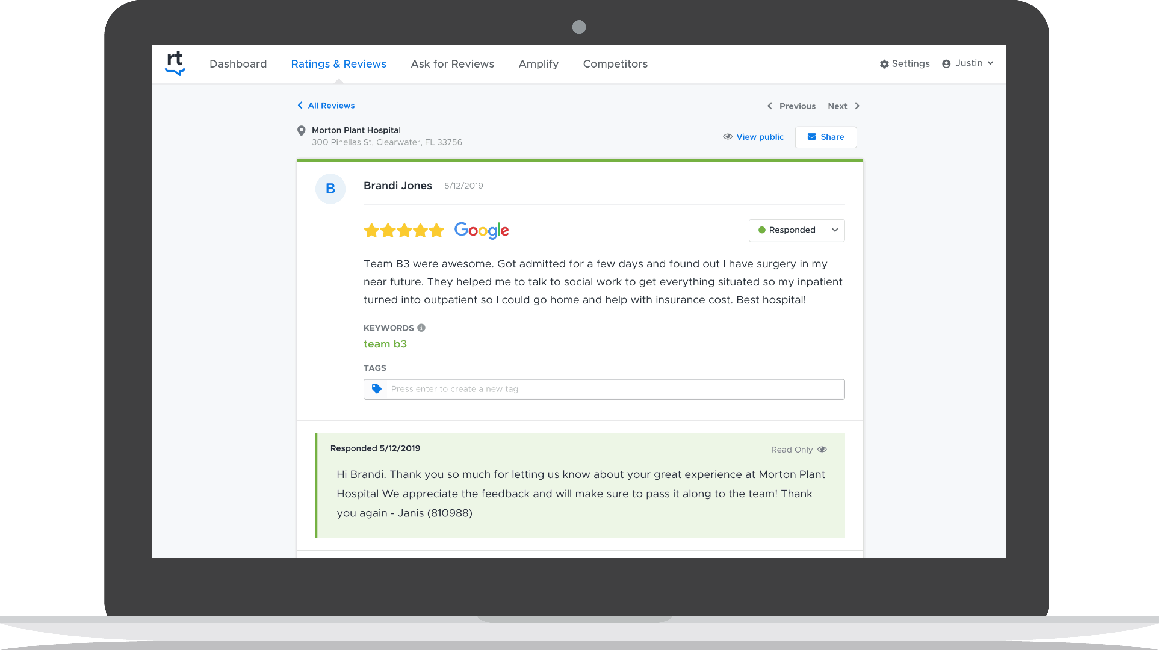 Respond to reviews faster