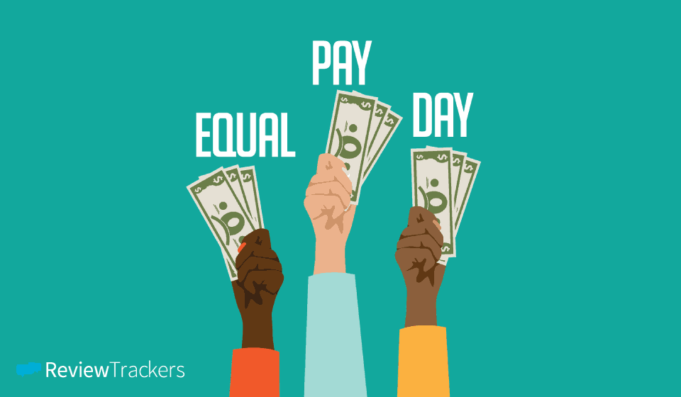 Equal Pay Day at ReviewTrackers
