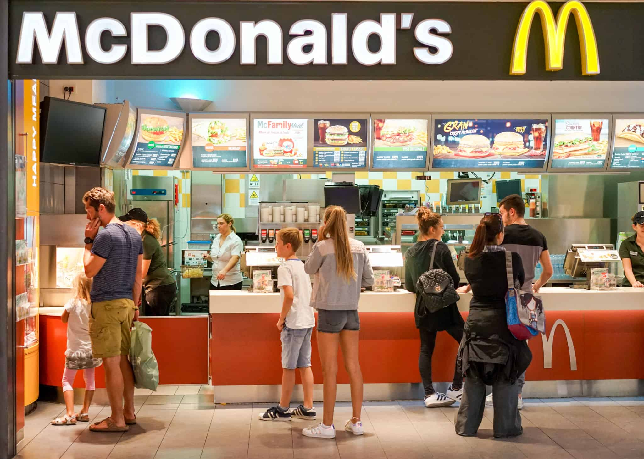 Mcdonald s launches experience of the future plan