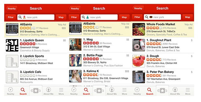track yelp reviews