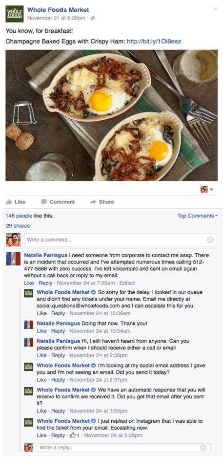 whole foods facebook