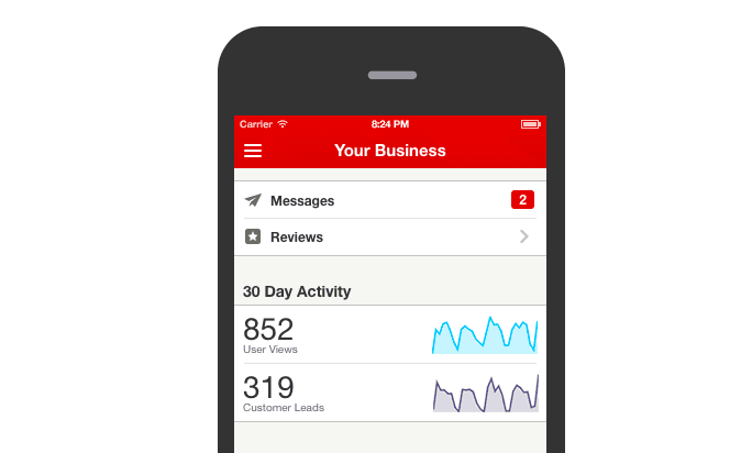 Your Guide to the Yelp for Business Owners App | ReviewTrackers