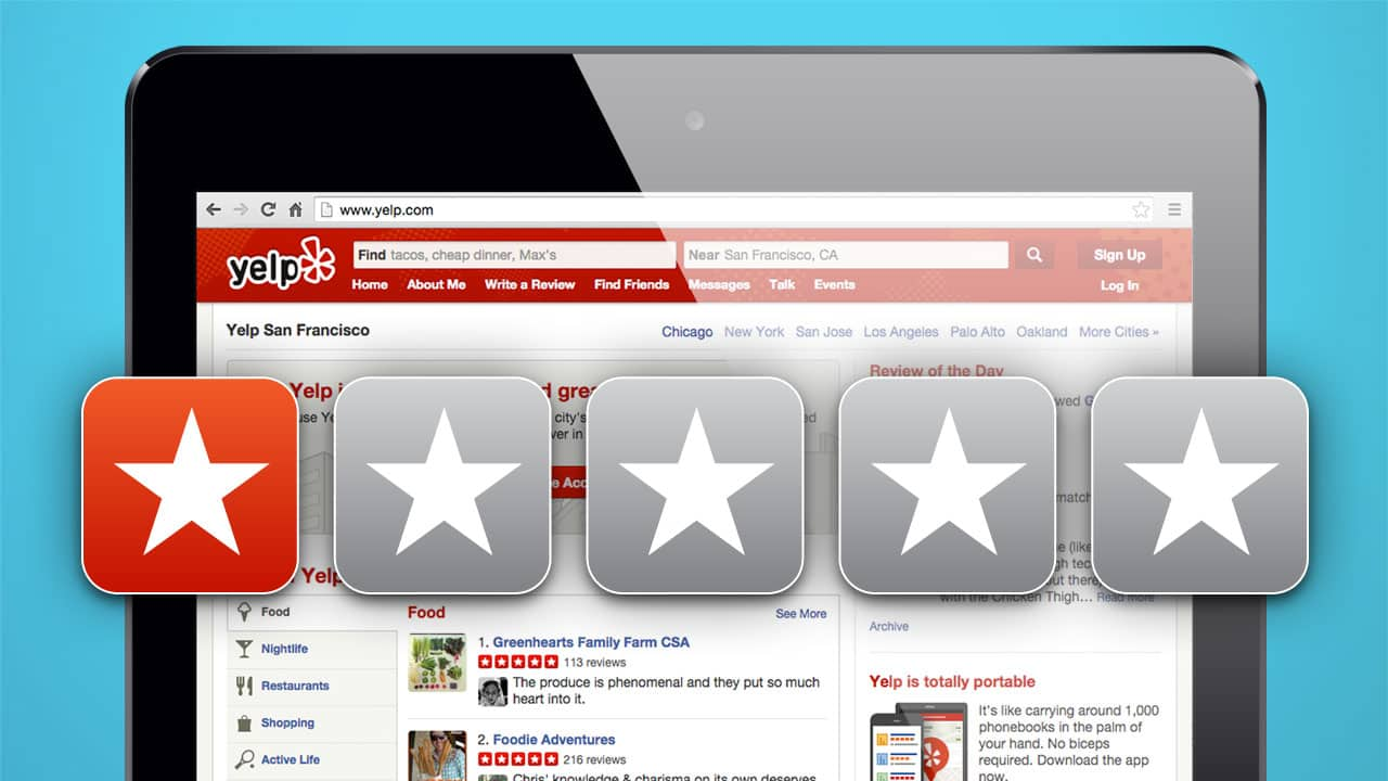 Yelp Gets a Bad Review – and a Low Net Promoter Score – from SMB Owners